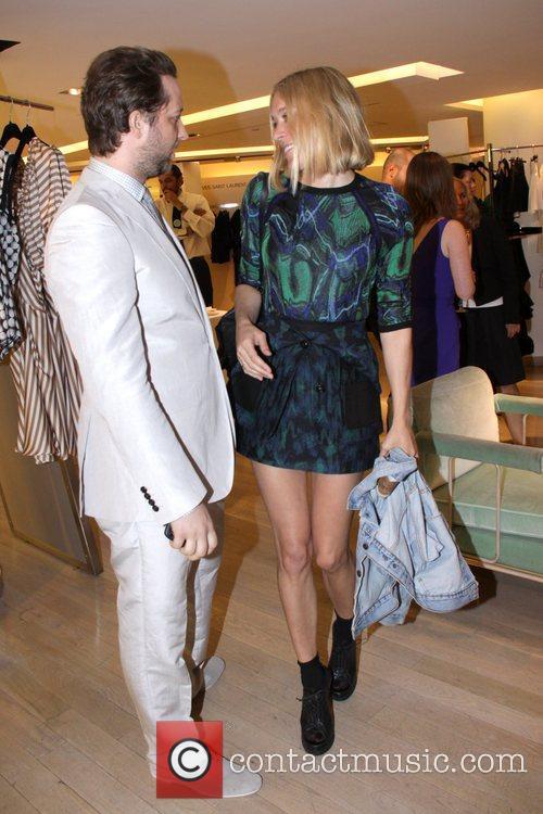 Derek Blasberg and Chloe Sevigney Reception for Derek...