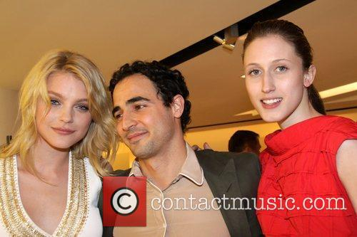 Jessica Stam, Zac Posen and guest Reception for...