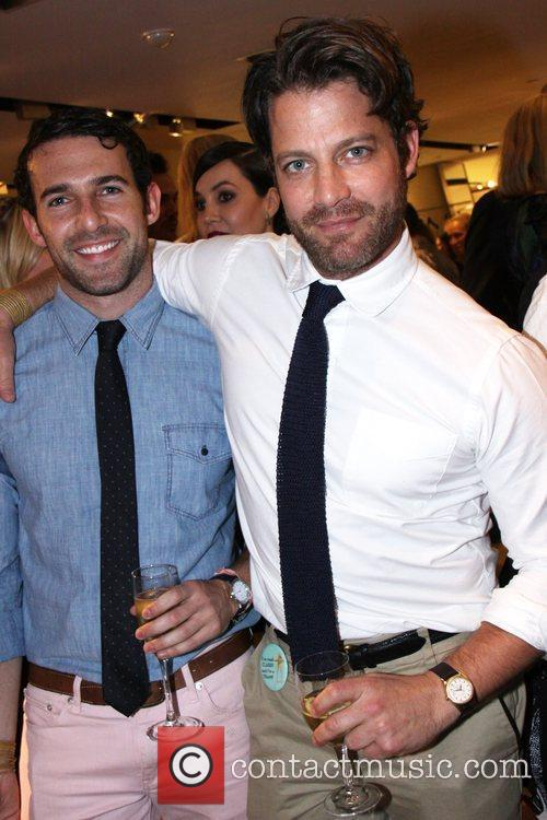 Nate Berkus and guest Reception for Derek Blasberg's...