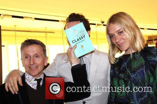 Simon Doonan, Derek Blasberg and Chloe Sevigney Reception...