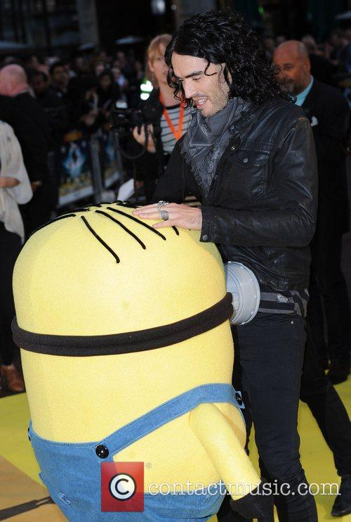 Russell Brand Despicable Me - UK film premiere...