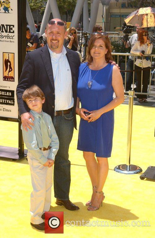 Director Chris Renaud Los Angeles Premiere Of Universal...