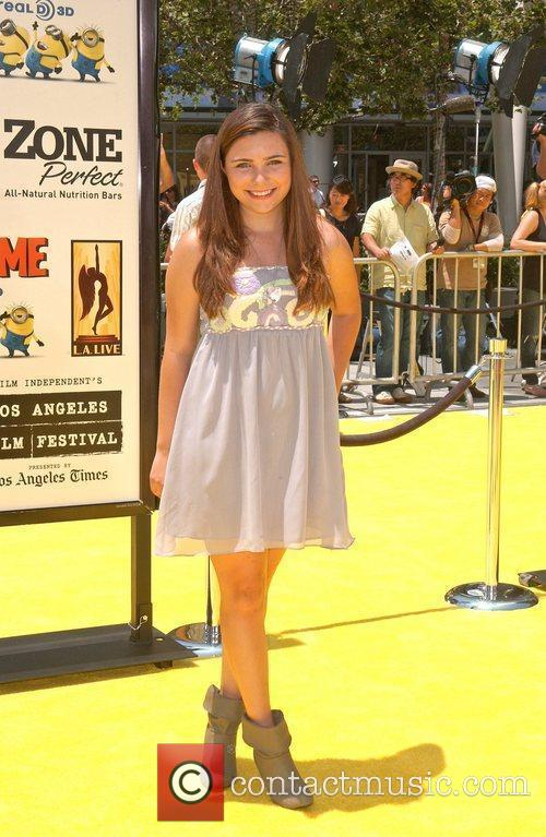 Julianna Rose Los Angeles Premiere Of Universal Pictures'...