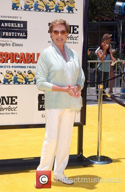 Julie Andrews Los Angeles Premiere Of Universal Pictures'...