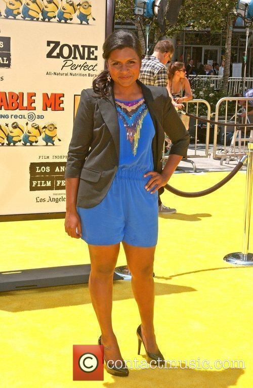 Mindy Kaling Los Angeles Premiere Of Universal Pictures'...