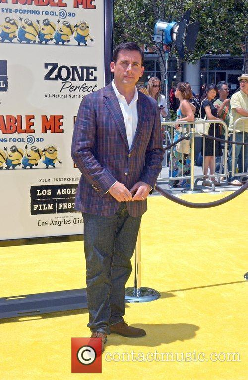 Steve Carrell Los Angeles Premiere Of Universal Pictures'...