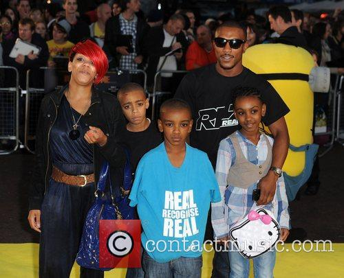 Ashley Walters and guests Despicable Me - UK...