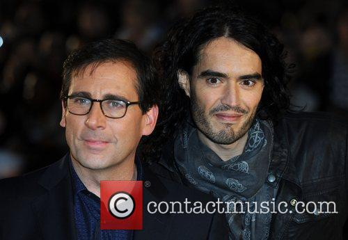 Steve Carell, Russell Brand Despicable Me - UK...