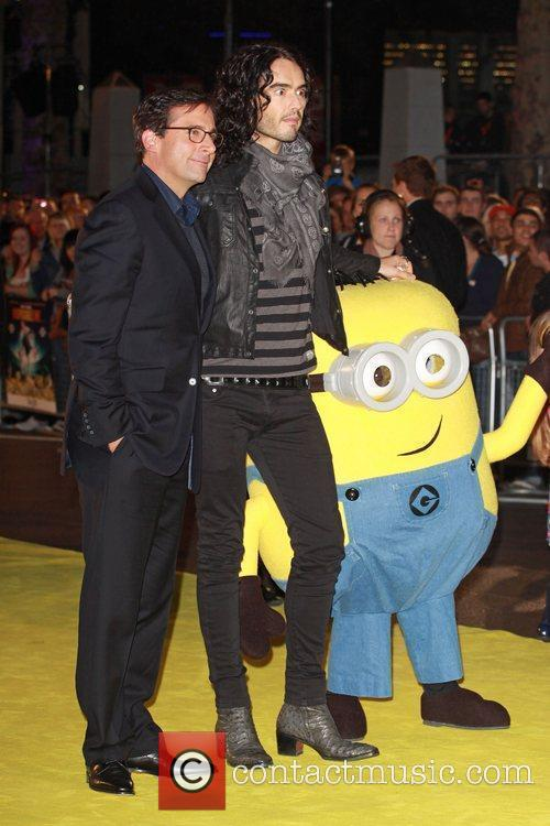 Steve Carell and Russell Brand Despicable Me -...