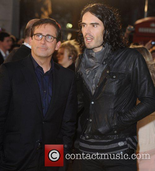 Russell Brand and Steve Carell  Despicable Me...