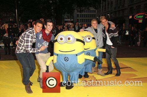 Guests Despicable Me - UK film premiere held...
