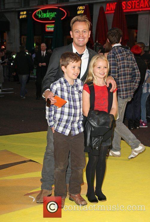 Jason Donovan Despicable Me - UK film premiere...