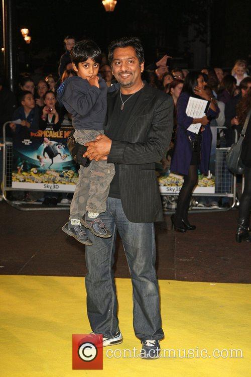 Nitin Ganatra Despicable Me - UK film premiere...