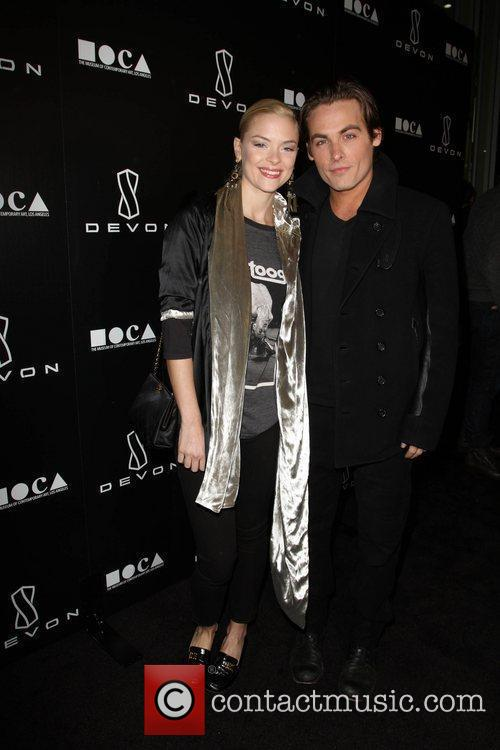 Jaime King, Jessica Stam and Kevin Zegers 2