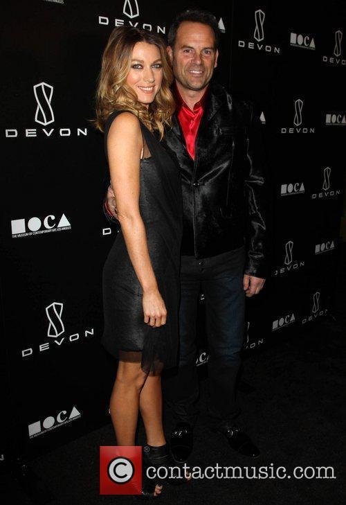 Natalie Zea, Scott Devon Jessica Stam Hosts Grand...