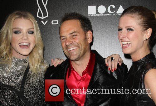 Jessica Stam, Scott Devon and Nicky Hilton Jessica...
