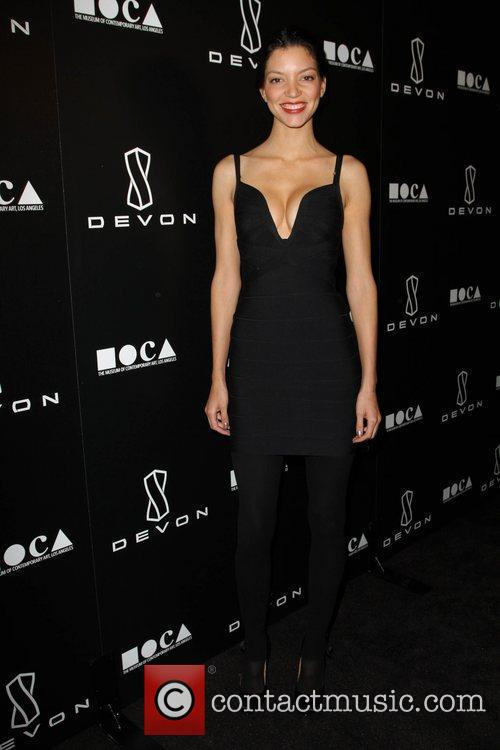 Shay Londre Jessica Stam Hosts Grand Opening Of...