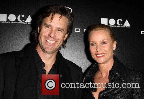 Nicollette Sheridan and boyfriend Steven Pate Jessica Stam...
