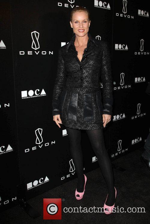 Nicollette Sheridan  Jessica Stam Hosts Grand Opening...