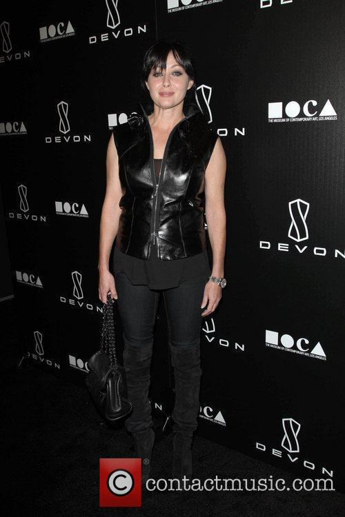 Shannen Doherty Jessica Stam Hosts Grand Opening Of...