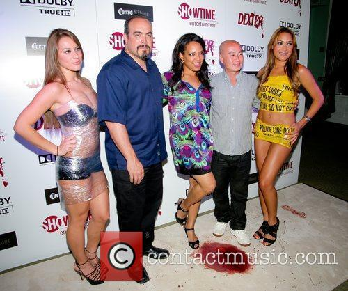 C.S. Lee, David Zayas, Lauren Velez Dexter season...