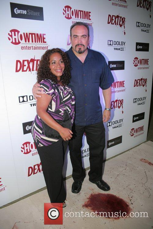 Dexter season four Blu-Ray and DVD release party...