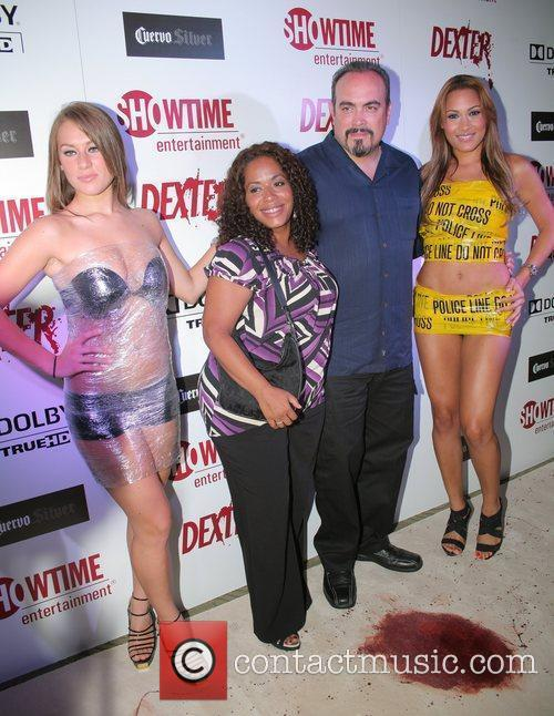 David Zayas and wife Liza Colon-Zayas Dexter season...