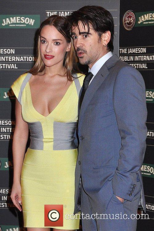 Colin Farrell and Girlfriend Alicja Bachleda 3
