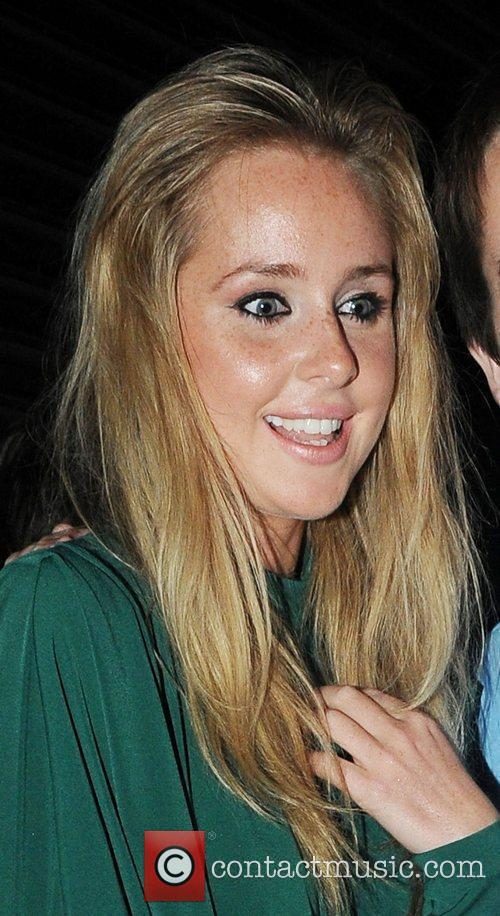 Diana Vickers leaving the Shaftesbury Theatre in London...