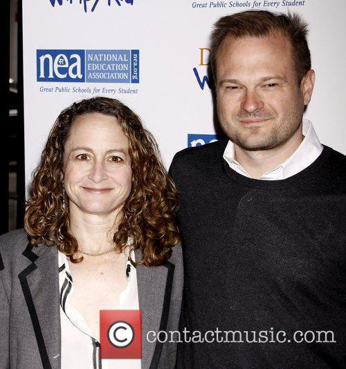 Nina Jacobson and Brad Simpson New York screening...
