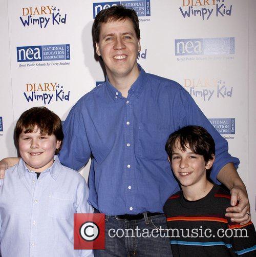 Robert Capron, Jeff Kinney and Zachary Gordon New...
