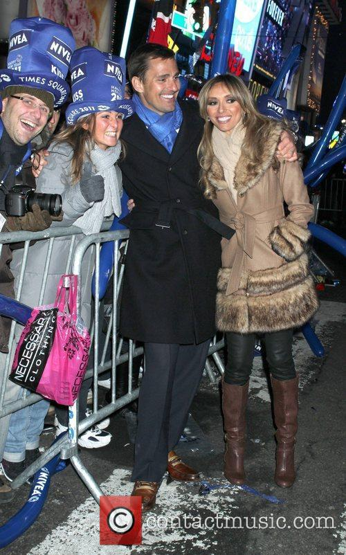 Bill Rancic, Dick Clark, Giuliana Depandi and Ryan Seacrest 2