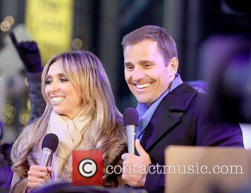 Bill Rancic, Dick Clark, Giuliana Depandi and Ryan Seacrest 1