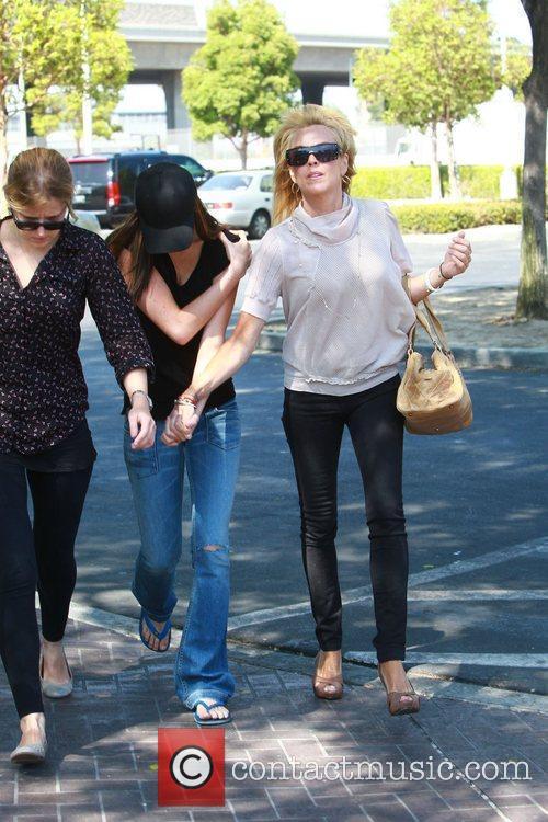 Dina, Ali Lohan and Lindsay Lohan 7