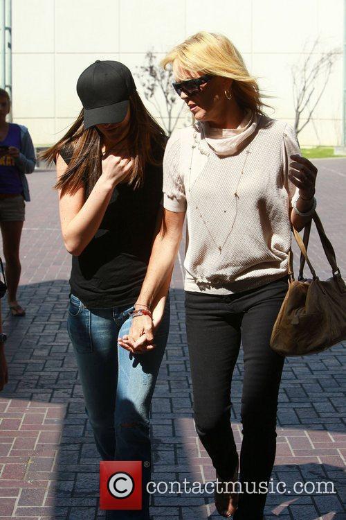Dina, Ali Lohan and Lindsay Lohan 2