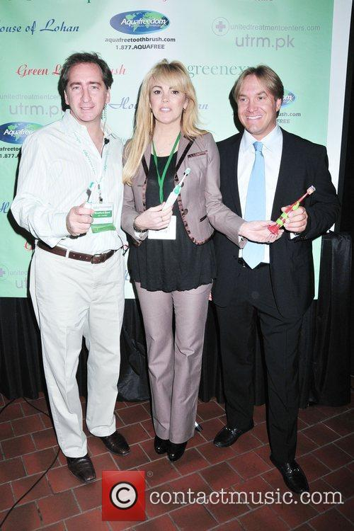 Dina Lohan introduces the 'Aqua Freedom Green Lohan...