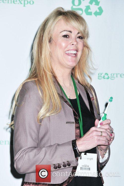 Introduces the 'Aqua Freedom Green Lohan Toothbrush' at...