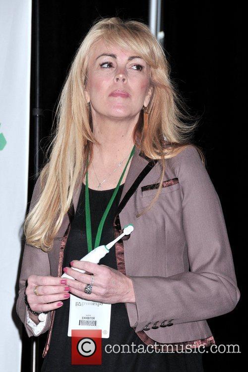 Dina Lohan  introduces the 'Aqua Freedom Green...