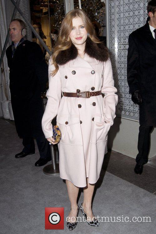 Amy Adams Dior re-opens their New York 57th...