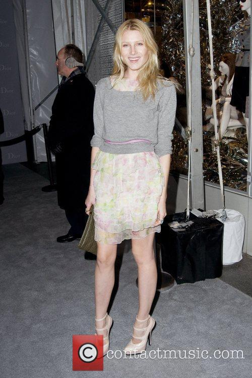 Dree Hemingway Dior re-opens their New York 57th...