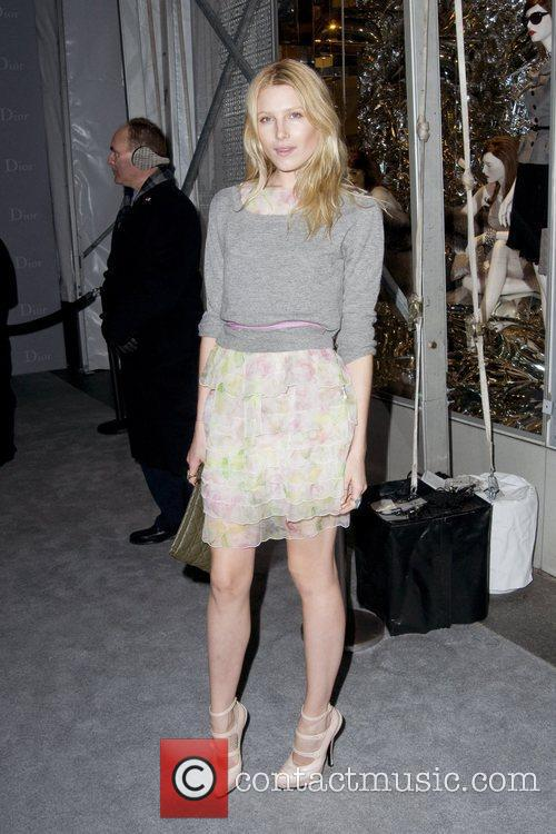 Dree Heningway Dior re-opens their New York 57th...