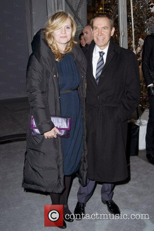 Justine Koons and Jeff Koons Dior re-opens their...