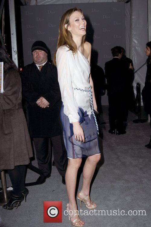 Karlie Kloss Dior re-opens their New York 57th...