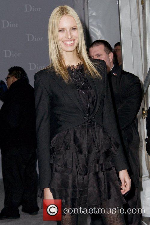 Karolina Kurkova Dior re-opens their New York 57th...