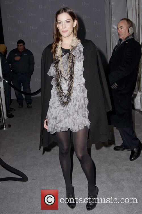 Liv Tyler Dior re-opens their New York 57th...