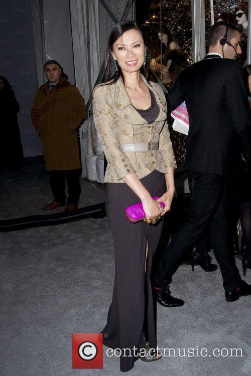 Wendi Murdoch Dior re-opens their New York 57th...
