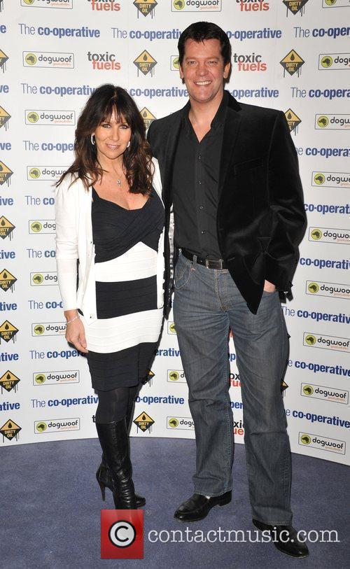 Linda Lusardi and Sam Kane