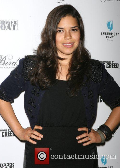 America Ferrara attends the premiere of 'The Disappearance...