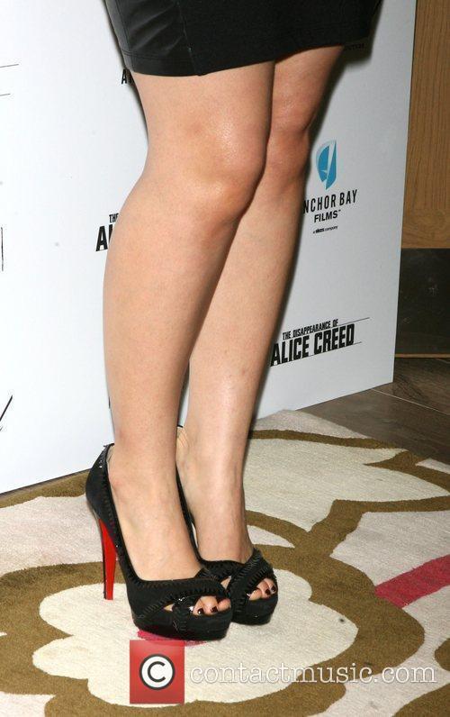 America Ferrara shoes  attends the premiere of...