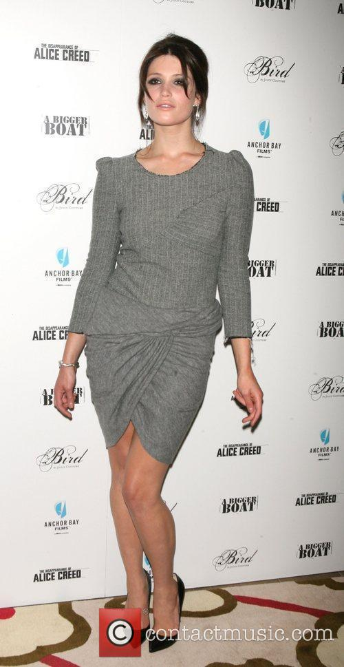 Gemma Arterton attends the premiere of 'The Disappearance...